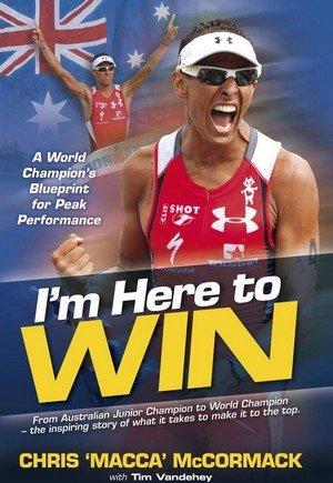 Обкладинка книжки Кріса Маккормака. Я тут, щоб перемогти! Злом коду гонки Ironman. Кріс Маккормак