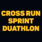 Cross Run Sprint Duathlon